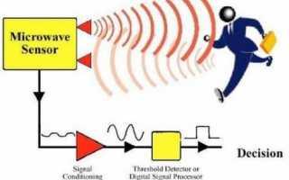 Принцип работы микроволновых датчиков движения, какие их них лучше