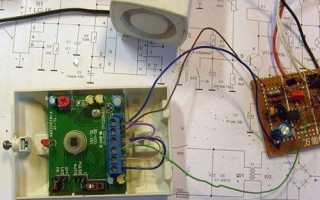 Простой датчик движения своими руками — ремонт, установка