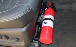 """Автомобильный огнетушитель """"не для галочки"""" – какой реально нужен и как выбрать?"""