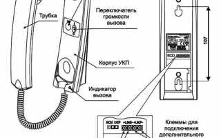 Схема трубки домофона – советы по устройству и ремонту для начинающих