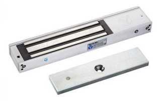 Что такое электромагнитный замок разновидности и устройство, как его установить на дверь