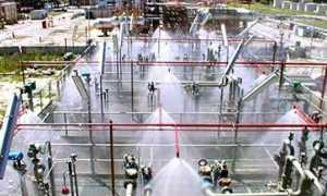 Дренчерная система пожаротушения – характеристики установки и принцип работы