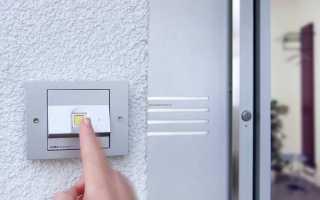 Самодельный биометрический замок с отпечатком пальца на входную гаражную дверь