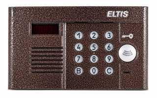Способы открытия домофонов Eltis без ключа: стандартные и универсальные коды