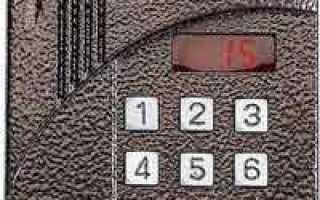 Домофон Цифрал: код открытия или как попасть в подъезд без ключа?