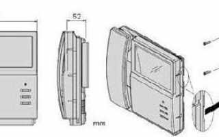 Видеодомофон Commax: инструкция по эксплуатации изделия