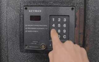 Как открыть домофон Keyman без ключа