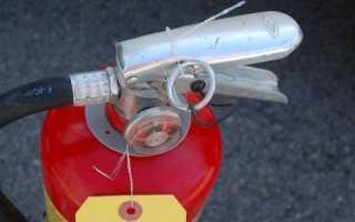 Правила установки огнетушителей в помещении — расчет необходимого количества