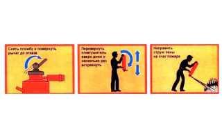 Инструкция по применению и техническому обслуживанию порошковых огнетушителей