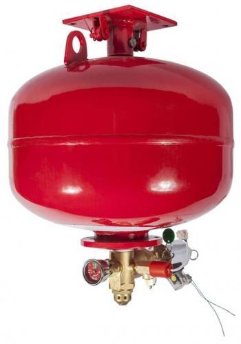Автономный модуль газового пожаротушения, применение и установка