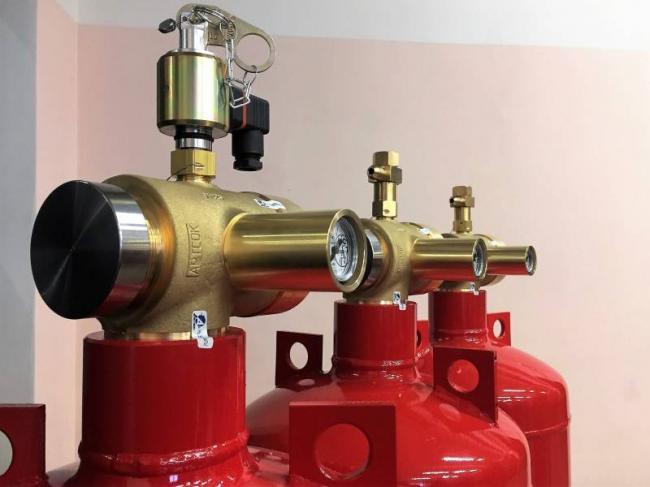 Модули газового пожаротушения (МГП)