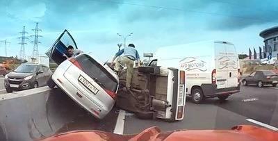 Videoregistrator avariia