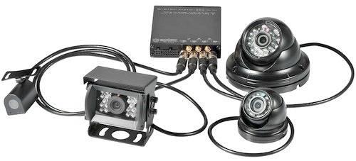 Videoregistrator v okhrannoi sisteme